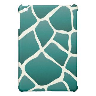 PixDezines Giraffe , Teal iPad Mini Cover