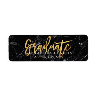 PixDezines Graduation/Faux Gold Script Font Label