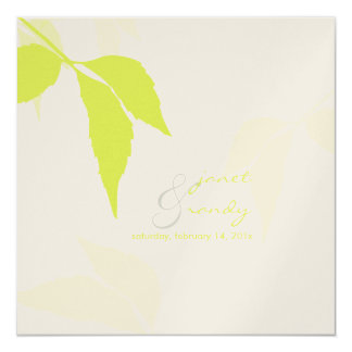PixDezines green foliage/diy background color Card