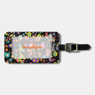 PixDezines groovy daisies/diy background color Luggage Tag