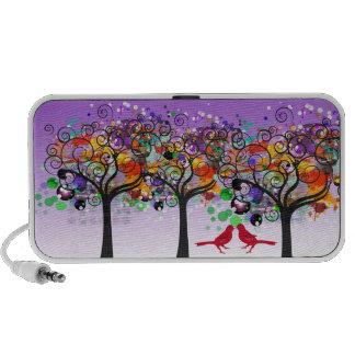 PixDezines Grunge Trees ♥♥♥♥ Laptop Speakers