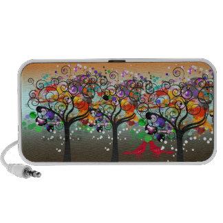 PixDezines Grunge Trees ♥♥♥♥ Travelling Speakers