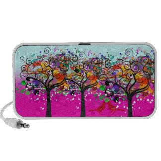 PixDezines Grunge Trees ♥♥♥♥ iPhone Speaker