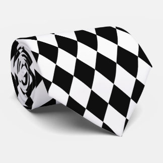 PixDezines harlequin DIY background color Tie