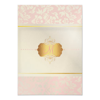 PixDezines Haute Coutour Damask, Mother of Pearl Card