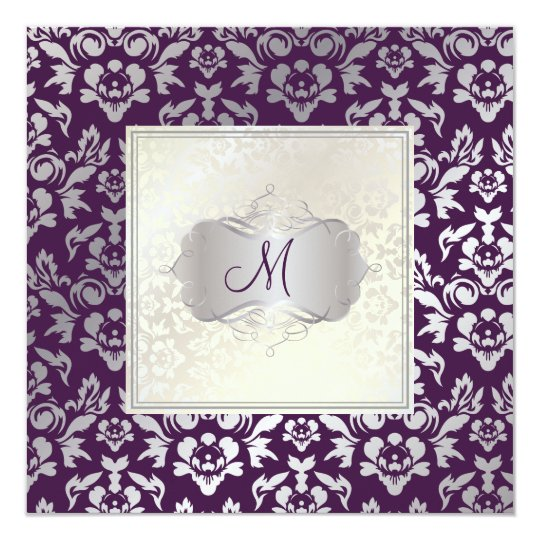 PixDezines Haute Couture Damask Card