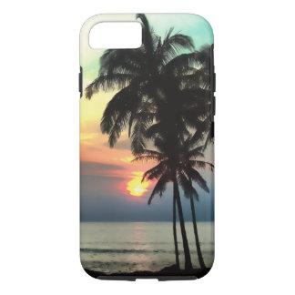 PixDezines Hawaii/puesta del sol/playa/fantasía Funda iPhone 7