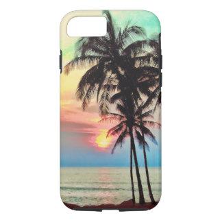 PixDezines hawaii/sunset/beach/fantasy iPhone 7 Case