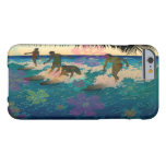 PixDezines hawaii/sunset/surfers Barely There iPhone 6 Case