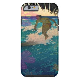PixDezines hawaii/sunset/surfers Tough iPhone 6 Case
