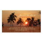 PixDezines Hawaiian Beach Sunset Business Card Templates