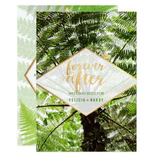 PixDezines Hawaiian Ferns/DIY Background color Card