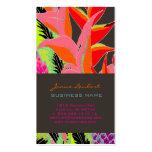 PixDezines Hawaiian Jungle 3/DIY background color Business Card