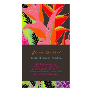 PixDezines Hawaiian Jungle 3/DIY background color Business Cards