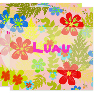 PixDezines hawaiian jungle/DIY background color Card