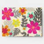PixDezines hawaiian jungle/DIY background color Envelope