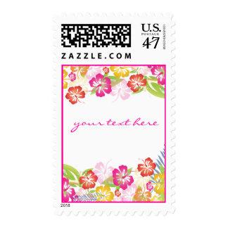 PixDezines Hawaiian Leis of Hibiscus/DIY postage