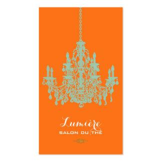 PixDezines hemlock green chandelier/DIY color Business Card Template