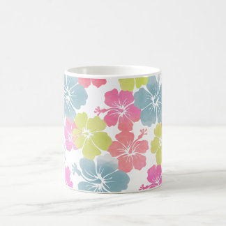 PixDezines hibiscus/diy background color Coffee Mug