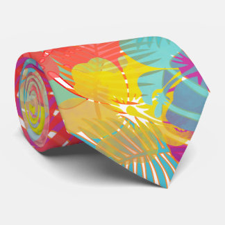 PixDezines Hibiscus/Rainforest/DIY Background Tie