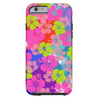 PixDezines hula kai/diy background Tough iPhone 6 Case