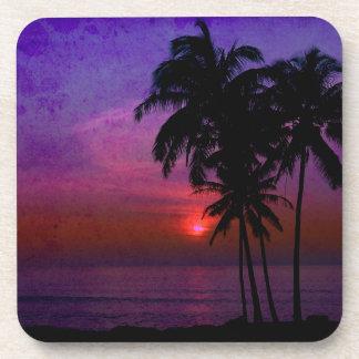 PixDezines hula sunset Coaster