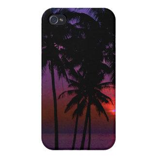 PixDezines hula sunset iPhone 4/4S Cover