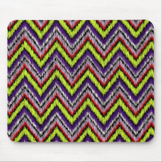 PixDezines ikat chevron/DIY background Mouse Pad