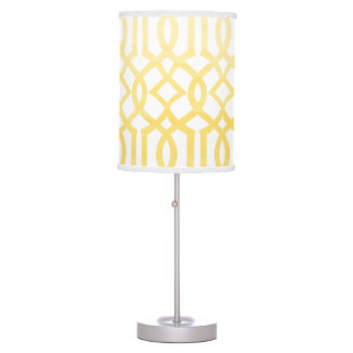 PixDezines indochine trellis/watercolor affect Table Lamp