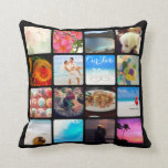 "PixDezines Instagram It!/DIY background color Throw Pillow<br><div class=""desc"">PixDezines instagram it,  customize your pillow directly from your instagram with zazzle&#39;s upload tool.  16 photos of your fabulous year.  PixDezines&#39; dynamic designs allow you to edit any elements.. text can be removed,  if you so desired.  Zoom in for better sizing of images. com.  All rights reserved.</div>"