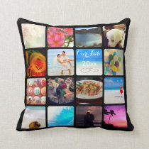 PixDezines Instagram It!/DIY background color Throw Pillow