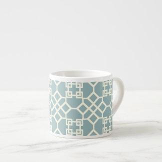 PixDezines ivory chinoise trellis/diy background Espresso Cup