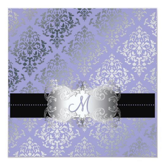 PixDezines Josephine Damask/DIY background color! Card
