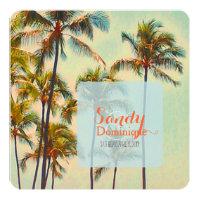 PixDezines kailua bay/tropical wedding Invitation