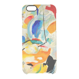 PixDezines Kandinsky 1913 Sea Battle Uncommon Clearly™ Deflector iPhone 6 Case
