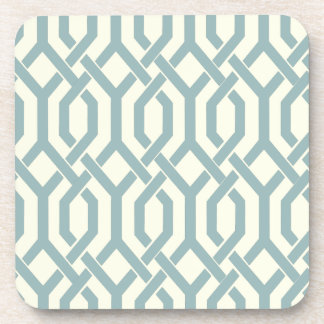 PixDezines Kew Trellis/DIY slate background color Coaster