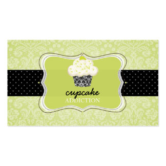 PixDezines Keylime cupcake/pâtisserie Business Card Template