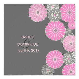 PixDezines Kiki, (chrysanthemum) pink Card