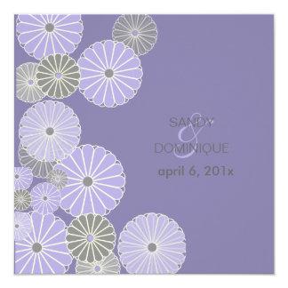 PixDezines Kiku (chrysanthemum) Lilac/purple Card