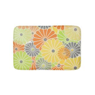PixDezines kiku/mums/diy background color Bathroom Mat