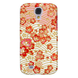 PixDezines kimono/faux chirimen Galaxy S4 Case