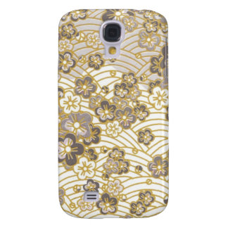PixDezines kimono/faux chirimen Samsung Galaxy S4 Covers