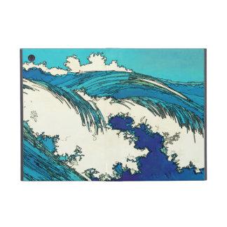 PixDezines konen olas oceánicas del uehara iPad Mini Carcasas