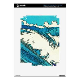 PixDezines konen uehara ocean waves, 上原 iPad 3 Skin