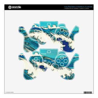 PixDezines konen uehara ocean waves, 上原 PS3 Controller Skins