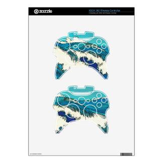 PixDezines konen uehara ocean waves, 上原 Xbox 360 Controller Skins