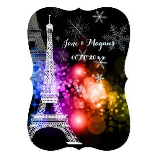 PixDezines la tour eiffel/paris/la nuit Card