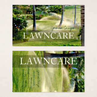 PixDezines lawn care/gardener/DIY fonts Business Card