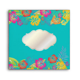 PixDezines Leis/Hibiscus/DIY background color! Envelope