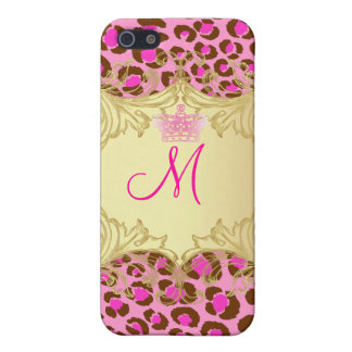 PixDezines Leopard , Pink Cover For iPhone SE/5/5s